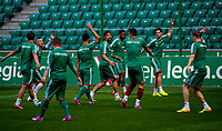 29/07/14<br /> LEGIA WARSAW TRAINING<br /> PEPSI ARENA - WARSAW<br /> The Legia Warsaw squad are put through their paces at the Pepsi Arena