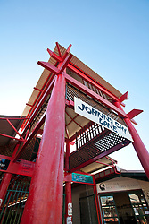 The entrance to Johnny Chi Lane in Broome.
