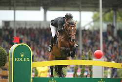 Delaveau, Patrice, Carinjo HDC<br /> Aachen - CHI 2015<br /> Grosser Preis von Aachen Rolex Grand Prix<br /> © www.sportfotos-lafrentz.de/Stefan Lafrentz