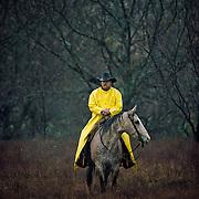 &ldquo;Taking a Break&rdquo; <br /> Lee Hay<br /> Waco, Texas, 1990<br /> Cowboy Gear, book                                                30 x 40