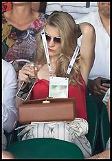 Celebrities at Wimbledon - Day 1 -  02 July 2018