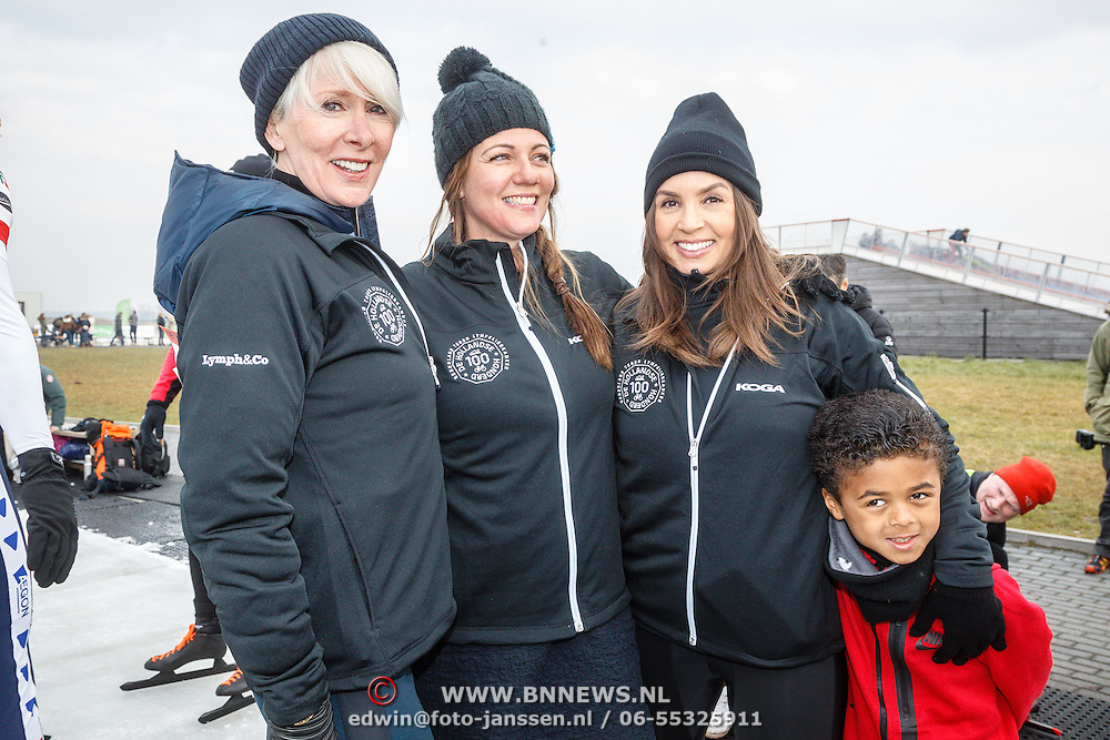 NLD/Biddinghuizen/20160306 - Hollandse 100 Lymphe & Co 2016, Monique des Bouvrie, Pr. Annette en Rosanna Kluivert - Lima