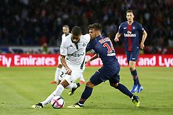September 14, 2018 - Paris, France - Kevin Monnet Paquet (ASSE) vs Juan Bernat Velasco  (Credit Image: © Panoramic via ZUMA Press)