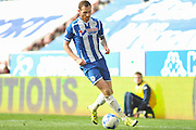 Wigan Midfielder Chris McCann during the Sky Bet League 1 match between Wigan Athletic and Southend United at the DW Stadium, Wigan, England on 23 April 2016. Photo by John Marfleet.