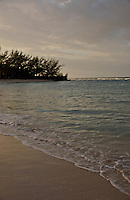 Beach at Dusk, in Montego Bay, Rose Hall, Half Moon Resort