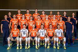 10-05-2017 NED: Selectie Nederlands volleybal team mannen 2017, Arnhem<br /> Op Papendal werd de selectie gepresenteerd / Team Nederland