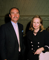 MR & MRS JULIAN HIPWOOD, he is the top polo player,  at a reception in London on 22nd May 1997.LYL 9
