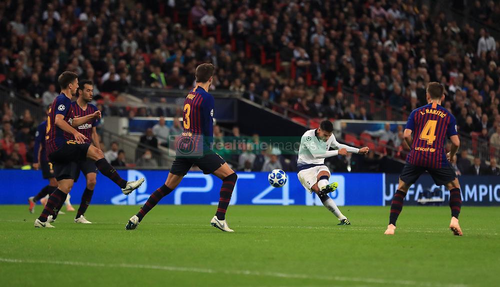 صور مباراة : توتنهام - برشلونة 2-4 ( 03-10-2018 )  38928948