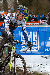 Martin Haring (SVK), Men Elite, Cyclo-cross World Championship Tabor, Czech Republic, 1 February 2015, Photo by Pim Nijland / PelotonPhotos.com