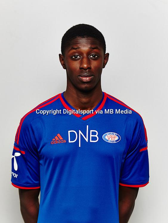 Fotball , Tippeligaen 2014 , Elitesereien<br /> , portrett , portretter<br /> V&aring;lerenga<br /> Moussa Nije