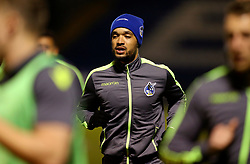 Byron Moore of Bristol Rovers warms up - Mandatory by-line: Matt McNulty/JMP - 14/03/2017 - FOOTBALL - Gigg Lane - Bury, England - Bury v Bristol Rovers - Sky Bet League One