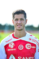 Anthony WEBER - 28.09.2015 - Photo officielle Reims - Ligue 1<br /> Photo : Dave Winter / Icon Sport