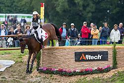 Eveline Bodenmuller, (SUI), Jiva de la Brasserie CH - Eventing Cross Country test - Alltech FEI World Equestrian Games™ 2014 - Normandy, France.<br /> © Hippo Foto Team - Leanjo de Koster<br /> 31/08/14
