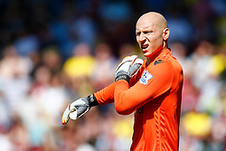 Brad Guzan of Aston Villa - Mandatory by-line: Jason Brown/JMP - Mobile 07966 386802 08/08/2015 - FOOTBALL - Bournemouth, Vitality Stadium - AFC Bournemouth v Aston Villa - Barclays Premier League - Season opener