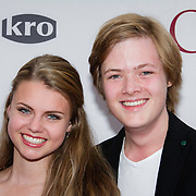 NLD/Amsterdam/20140630 - Premiere Oorlogsgeheimen, Stefan Collier en partner Britt Scholte