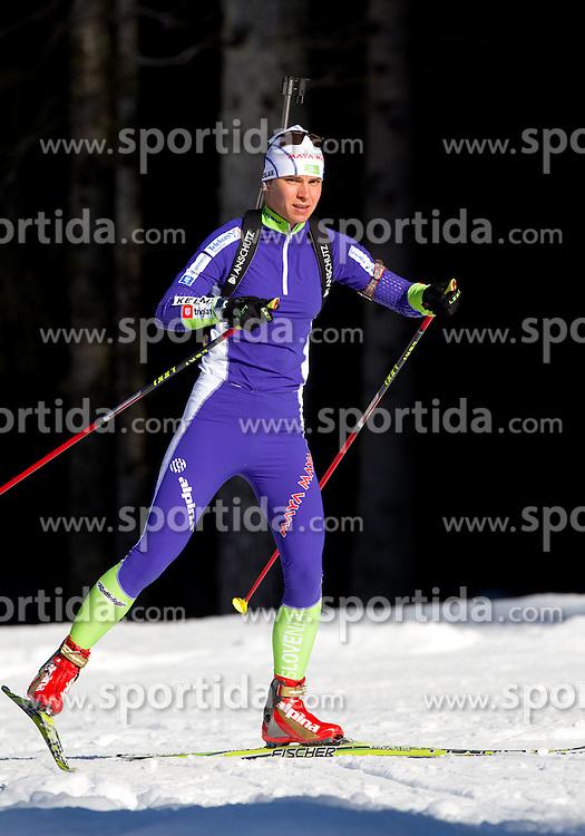 Teja Gregorin at practice session during Media day of Slovenian biathlon team on November 12, 2010 at Rudno polje, Pokljuka, Slovenia. (Photo By Vid Ponikvar / Sportida.com)