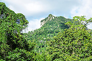 El Yunque mountain, Cuba