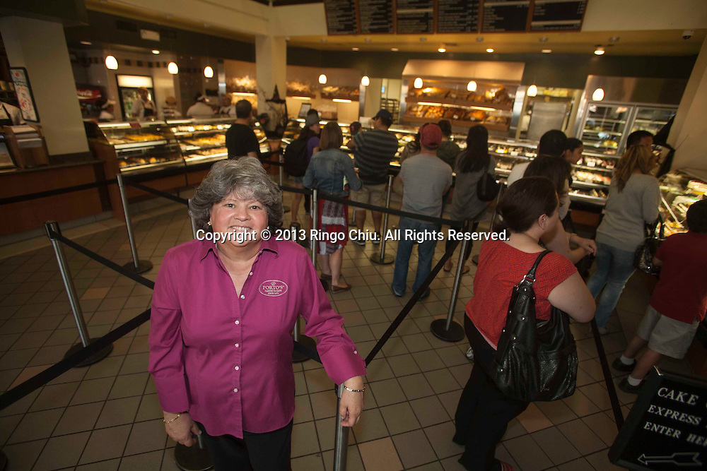 Betty Porto, owner of Porto's Bakery in Glendale. (Photo by Ringo Chiu/PHOTOFORMULA.com)