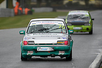 #70 Justin Roberts Ford Fiesta XR2 during Lee Bowron Ltd XR Challenge - Qualifiying  as part of the Easter Family Fun Day - Oulton Park Fosters at Oulton Park, Little Budworth, Cheshire, United Kingdom. March 28 2016. World Copyright Peter Taylor/PSP. Copy of publication required for printed pictures.  Every used picture is fee-liable. http://archive.petertaylor-photographic.co.uk