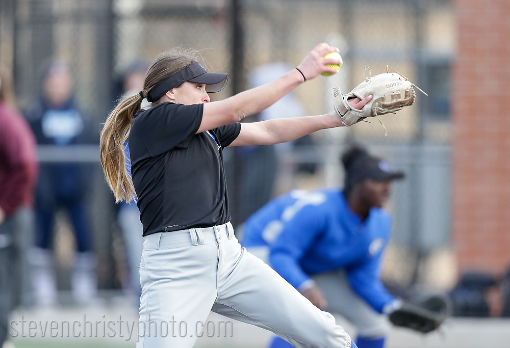 February 9, 2018: The Southeastern Oklahoma State University Savage Storm play against the Oklahoma Christian University Lady Eagles in the Edmond Regional Festival at Tom Heath Field at Lawson Plaza on the campus of Oklahoma Christian University.
