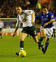 Fotball<br /> Championship England 2004/05<br /> Leicester v Plymouth<br /> 27. november 2004<br /> Foto: Digitalsport<br /> NORWAY ONLY<br /> GRAHAM COUGHLAN PLYMOUTH ARGYLE
