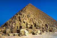 The Great Pyramids of Giza, outside Cairo, Egypt