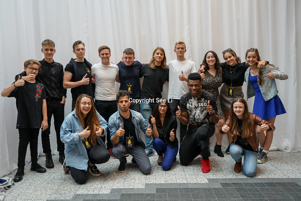 London, UK. 3rd September 2017. The Finalists of the Mayor Of London Gigs at Westfield London.