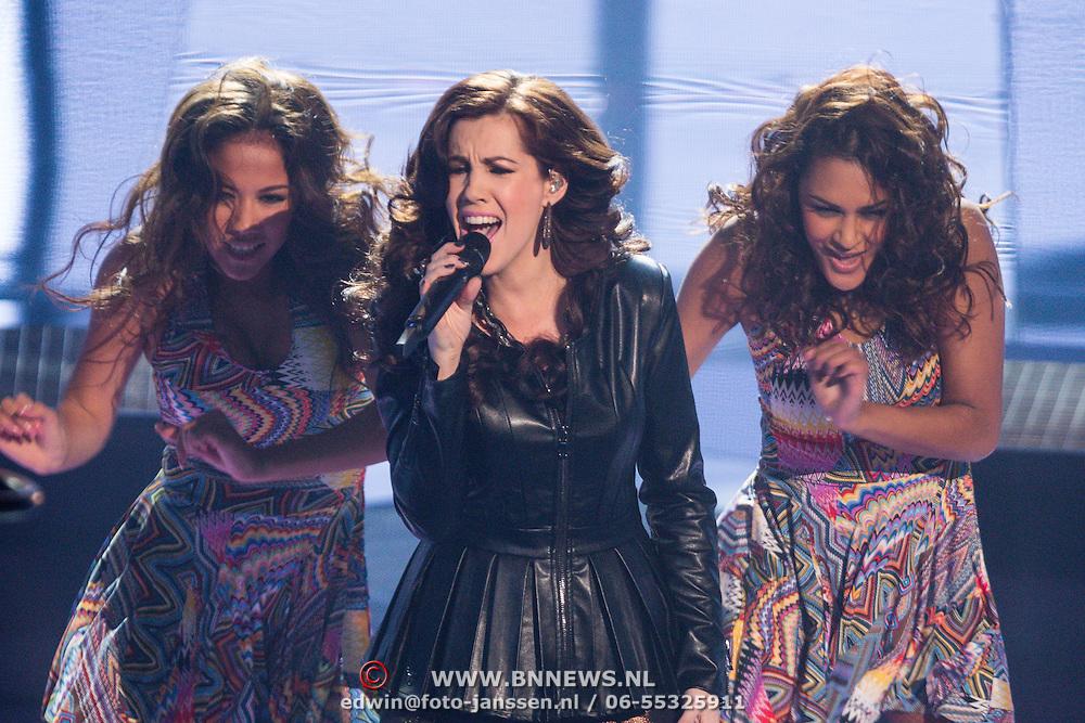 NLD/Hilversum/20131220 - Finale The Voice of Holland 2013, Gerrie Dantuma