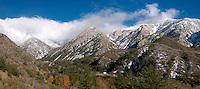 Panoramic Photo of Mount Baldy Village, San Gabriel Mountains, California