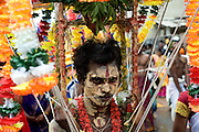 Hindu festival on the streets of Bambalapitiya in Colombo.