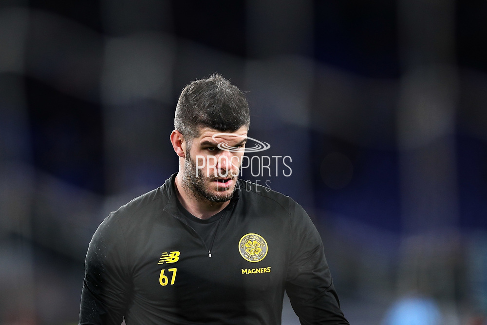 Fraser Forster during the warm up before UEFA Europa League, Group E football match between SS Lazio and Celtic FC on November 7, 2019 at Stadio Olimpico in Rome, Italy - Photo Federico Proietti / ProSportsImages / DPPI