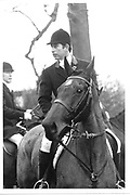 Prince Charles hunting with the Quorn. 11/11/84.© Copyright Photograph by Dafydd Jones 66 Stockwell Park Rd. London SW9 0DA Tel 020 7733 0108 www.dafjones.com