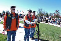The Presentation of The Fallen Soldier during a Veterans Day ceremony on Wednesday at the Monterey County Vietnam Veterans Memorial in Salinas.