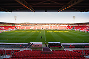 A general view of Keepmoat Stadium before the EFL Sky Bet League 1 match between Doncaster Rovers and Blackpool at the Keepmoat Stadium, Doncaster, England on 17 September 2019.