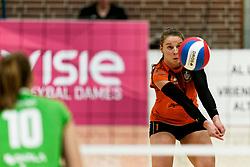 26-10-2019 NED: Dros Alterno - Set Up 65, Apeldoorn<br /> Round 4 of Eredivisie volleyball - Jorinda Kremer #1 of Set Up