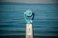 2017 NOVEMBER 06 - Telescope on Alki Beach, Seattle, WA, USA. By Richard Walker