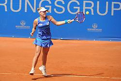22.05.2014, Tennisanlage 1.FC Nuernberg, GER, WTA Tour, Nuernberger Versicherungscup, Viertelvinale, im Bild Vorhand Angelique KERBER (GER) // during the quarterfinals of Nuernberg WTA tournament at the 1.FC Nuernberg tennis facility in Nuernberg, Germany on 2014/05/22. EXPA Pictures © 2014, PhotoCredit: EXPA/ Eibner-Pressefoto/ Schreyer<br /> <br /> *****ATTENTION - OUT of GER*****