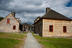 Exterior of the Great Hall and Kitchen, Grand Portage National Monument, Grand Portage, Minnesota, United States of America