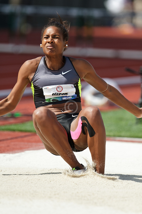 2012 USA Track & Field Olympic Trials: women's long jump, Whitney Gibson, 4th women's Long Jump