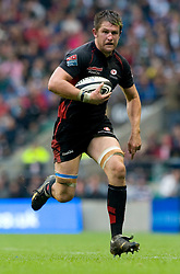 Saracens Ernst Joubert during the Guinness Premiership final 2010 between Leicester Tigers and Saracens at Twickenham Stadium, London, England. May 29th, 2010. .