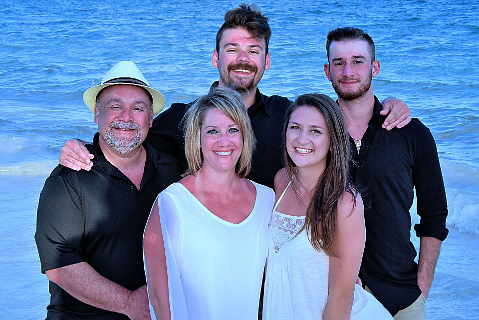 Barger Family Mexico Photos 2017