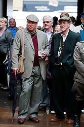 Northallerton Wartime Weekend is a fund raising event that happens throughout the Yorkshire market town of Northallerton. .With help of volunteers and local business it has  been successful in raising money for the charities.Help for Heroes.Royal British Legion.Bomber Command Memorial Charity .Ben Hyde Memorial Fund.. ..16/17 June 2012.Image © Paul David Drabble