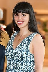 © Licensed to London News Pictures. 04/04/2016. MELISSA HEMSLEY attends the new SELFRIDGES The Body Studio - the world's first fully integrated bodywear department and the largest retail space ever opened by the iconic London store. Covering over 37,000 sq ft, customers will experience over 3,000 brands and more than 5,000 different clothing options.London, UK. Photo credit: Ray Tang/LNP