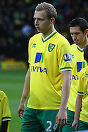 Picture by Paul Chesterton/Focus Images Ltd.  07904 640267.26/11/11.Norwich's Ritchie De Laet returns to the starting line up during the Barclays Premier League match at Carrow Road Stadium, Norwich.