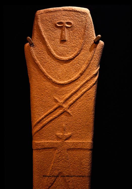 A gravestone from the Hijaz, 500 B.C.  National Museum in Riyadh, Saudi Arabia
