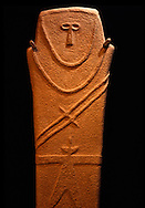 A gravestone from the Hijaz, 500 B.C.  National Museum in Riyadh, Saudi Arabia