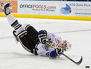 The Victoria Royals versus the Kelowna Rockets in Game three or their second round WHL playoff series April 14, 2015 at the Save-on-Foods Memorial centre in Victoria B.C. Canada.