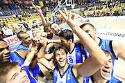 DESCRIZIONE : Torino Lega A 2015-16 Manital Torino - Betaland Capo d'Orlando<br /> GIOCATORE : Betaland Capo d'Orlando<br /> CATEGORIA : Esultanza<br /> SQUADRA : Betaland Capo d'Orlando<br /> EVENTO : Campionato Lega A 2015-2016<br /> GARA : Manital Torino - Betaland Capo d'Orlando<br /> DATA : 22/11/2015<br /> SPORT : Pallacanestro<br /> AUTORE : Agenzia Ciamillo-Castoria/M.Matta<br /> Galleria : Lega Basket A 2015-16<br /> Fotonotizia: Torino Lega A 2015-16 Manital Torino - Betaland Capo d'Orlando