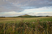 Landscape of Northumberland, England, United Kingdom