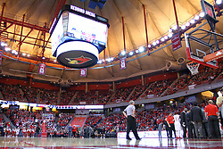 14 January 2017:  Redbird Arena during an NCAA  MVC (Missouri Valley conference) mens basketball game between the Wichita State Shockers the Illinois State Redbirds in  Redbird Arena, Normal IL